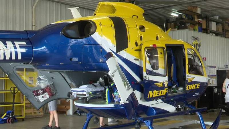 MedForce purchases 7.1 million dollar helicopter, increasing access to medical treatment