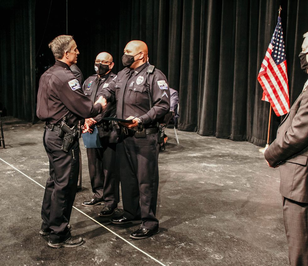 The City of Davenport and the Davenport Police Department on Tuesday night recognized officers...
