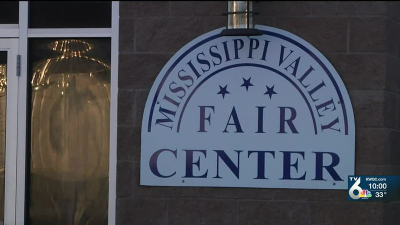 Mississippi Valley Fairgrounds prepares to hold pro boxing matches