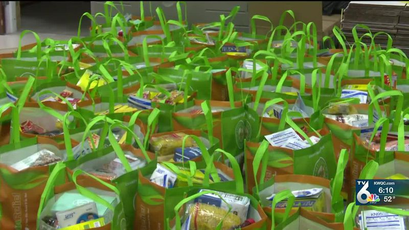 The Islamic Center says giving to others in need is one of their main beliefs.