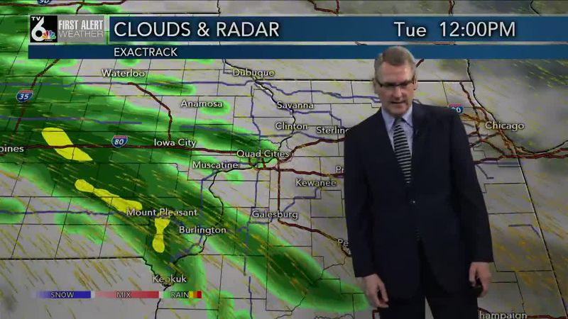 First Alert Forecast - More rain on the way with some Tuesday storms