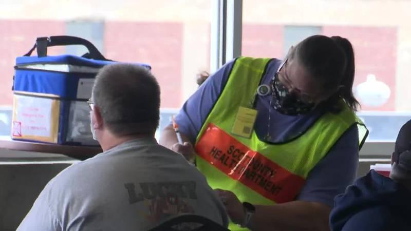 River Bandits host vaccine clinic