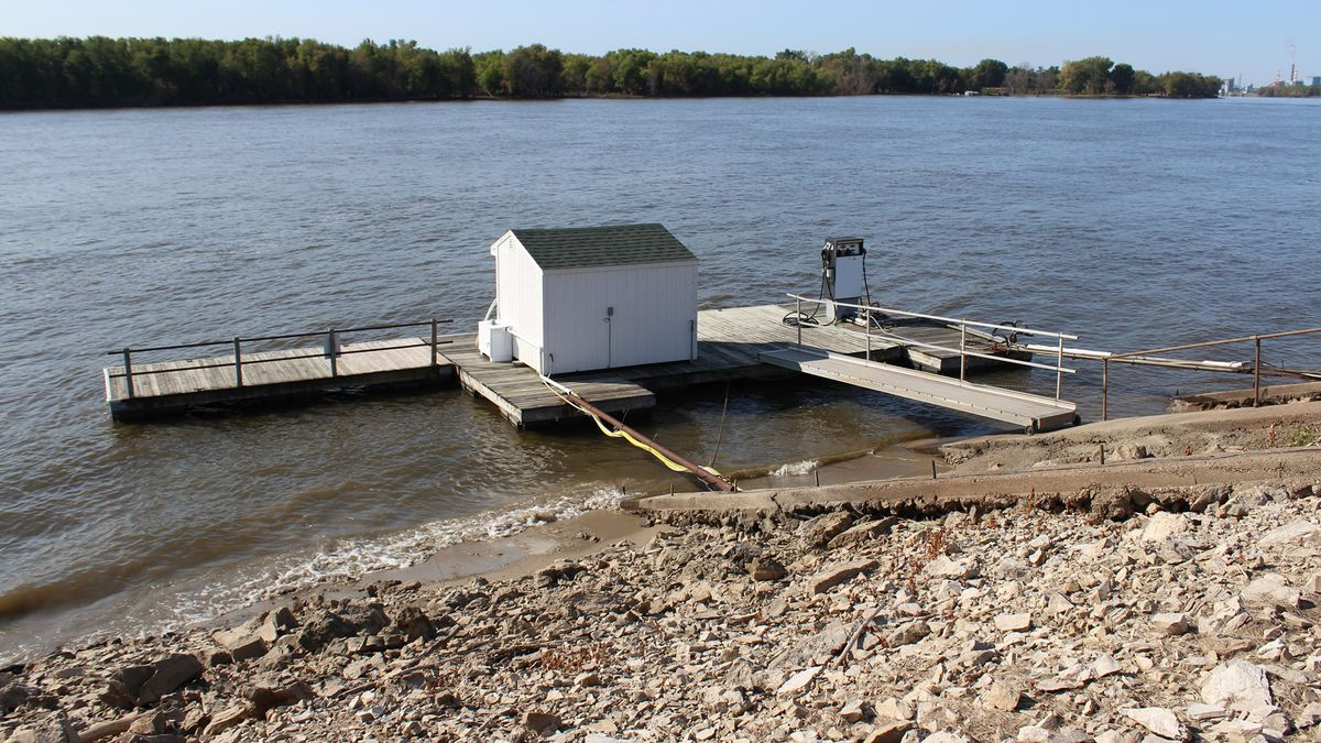 The Muscatine Municipal Boat Harbor Gas Dock is closing for the season on Sunday, Sept. 15. (City of Muscatine)