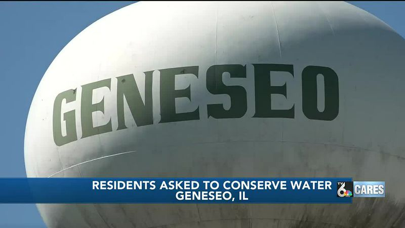 City of Geneseo asking for 'voluntary water conservation' from residents due to low water levels