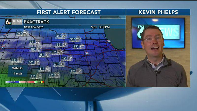 Warmer tomorrow