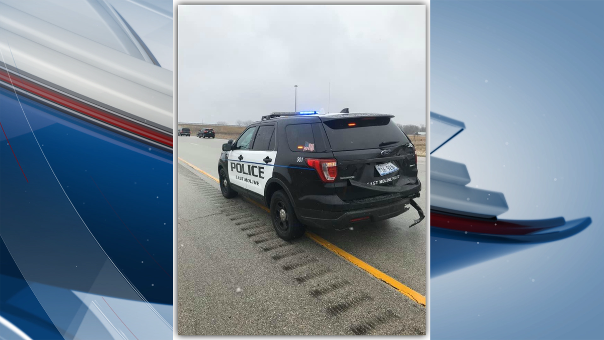 The East Moline Police Department is reminding drivers to move over when they see emergency...