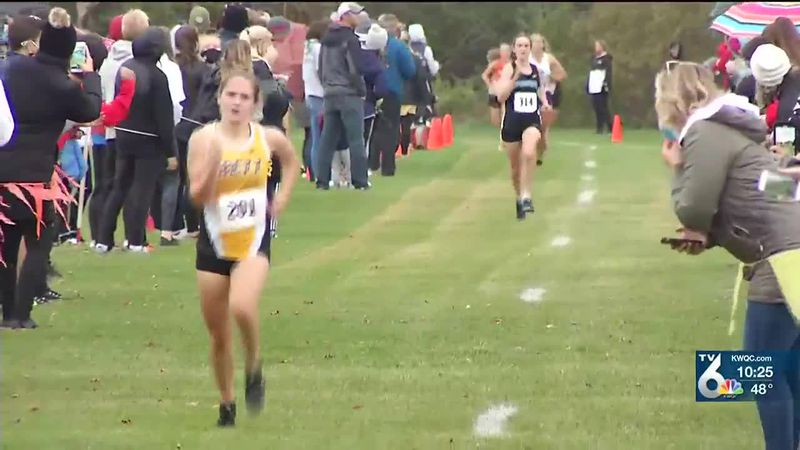 Watch highlights from the District Cross Country Meet