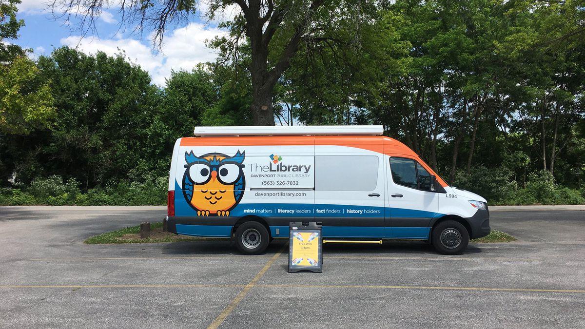 Davenport Public Library OWL Stop