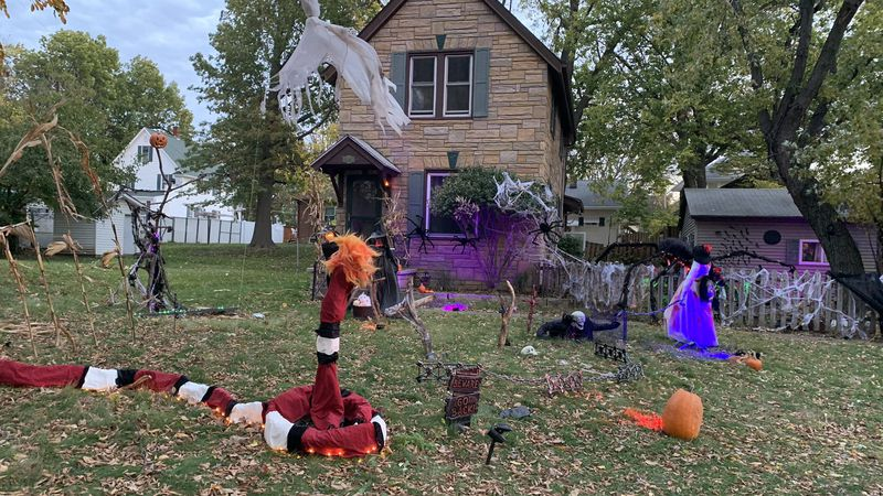 The Gonzales family in Rock Island knew this year's Halloween was going to be very different,...