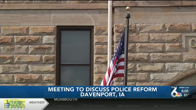 Davenport civil rights commission held special meeting Saturday