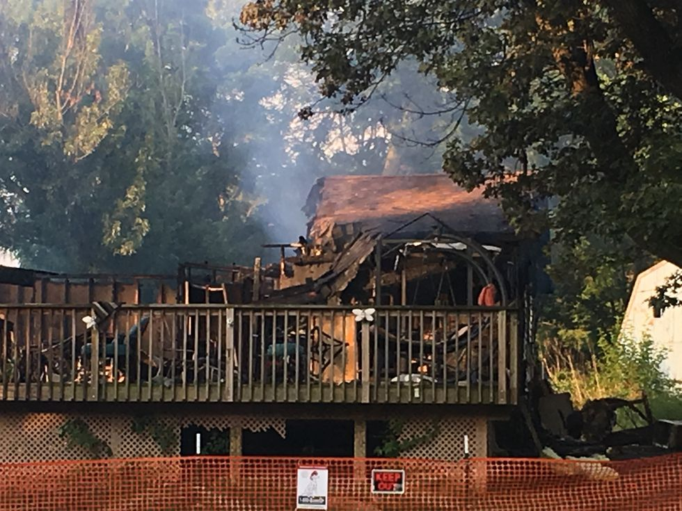 Multiple fire departments responded to a fatal fire in Port Byron Thursday night.