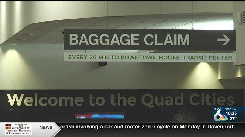 QC airport sees low passenger travel through holiday season