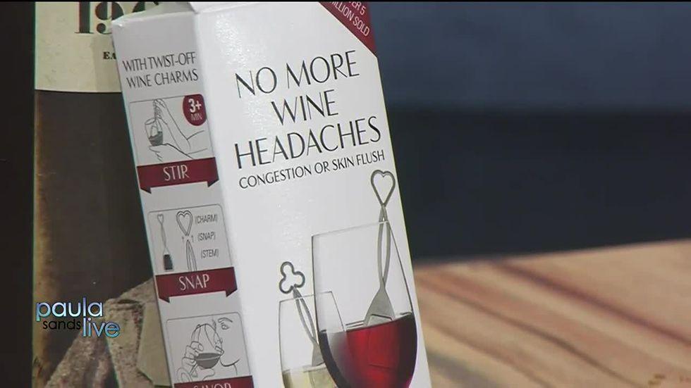 No More Wine Headaches Wands