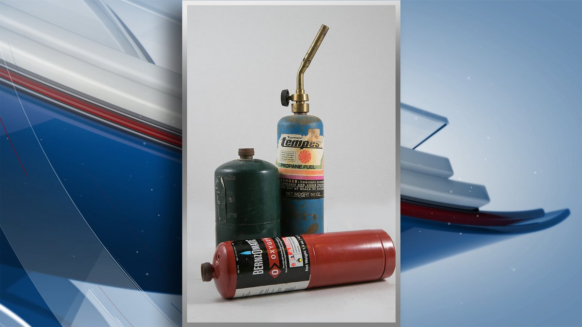 The Waste Commission of Scott County says propane tanks are creating hazards at its facilities...
