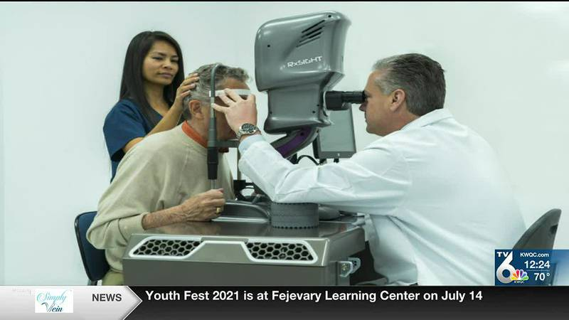 They are meant to improve post-op vision.