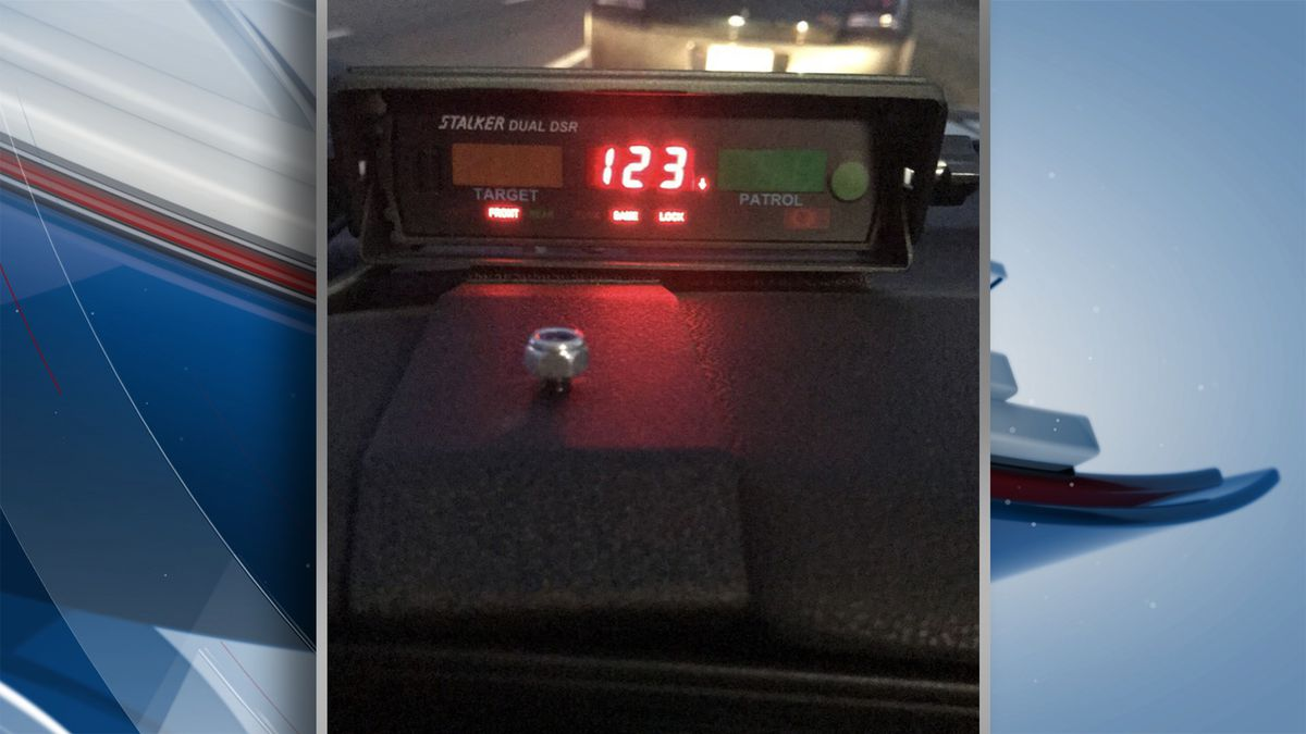 An Iowa State Trooper pulled over a driver Monday morning who was speeding on Highway 61. How fast was the driver going? Well, according to a post on Twitter from Trooper Dan Loussaert, he was going 161 mph. (KWQC/ISP Trooper Dan Loussaert)