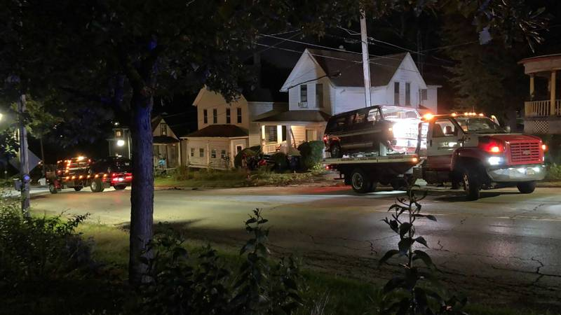 Davenport Police were on the scene of a multiple-vehicle accident on Saturday around 6:50 p.m....