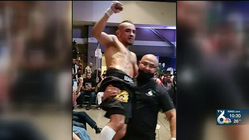 Silvis native Javier Marquina will box at the River Center Saturday night