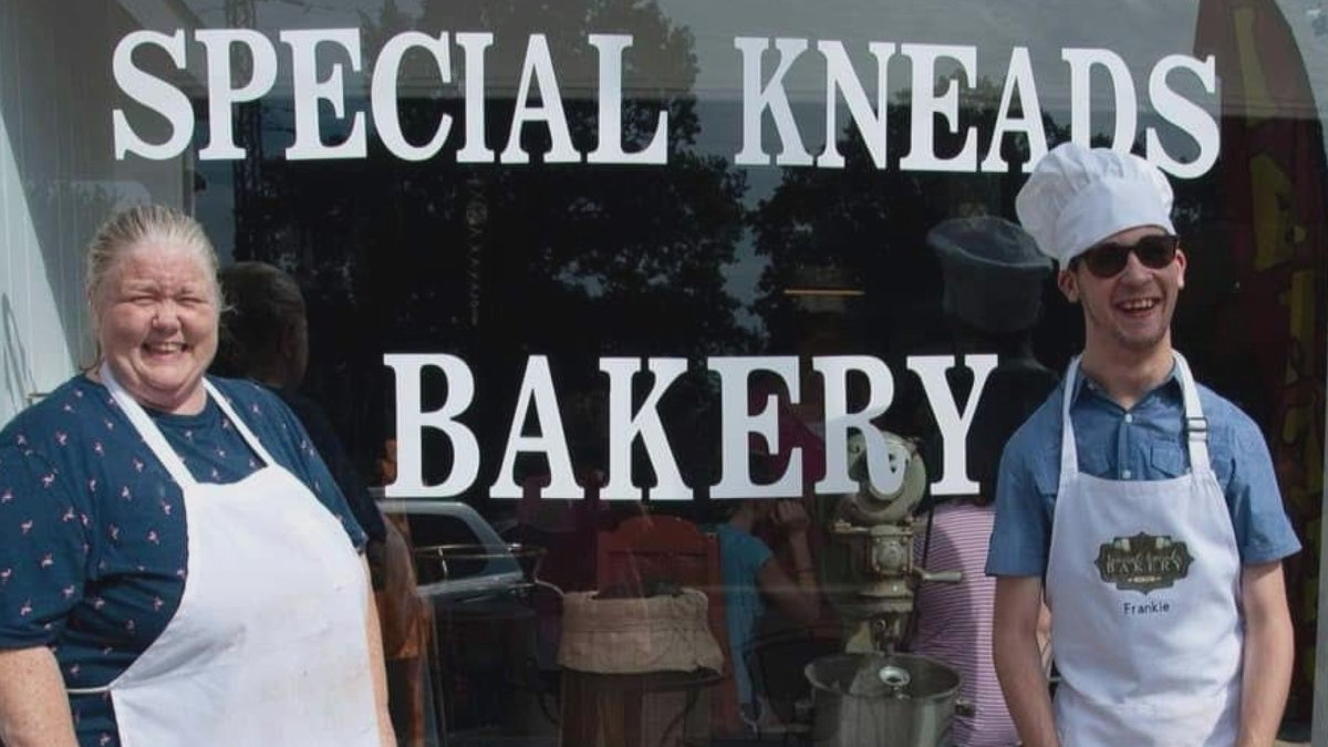 Margaret Cortes opened the Special Kneads Bakery in Galva, Illinois so her son could have a job...