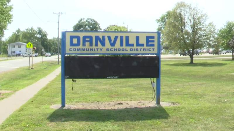 """During a """"black out night"""" game between Danville and New London last Tuesday, a student was..."""