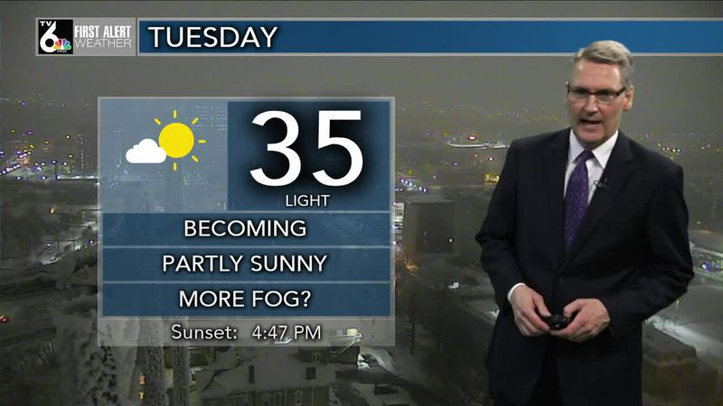 First Alert Forecast - Areas of fog continue overnight