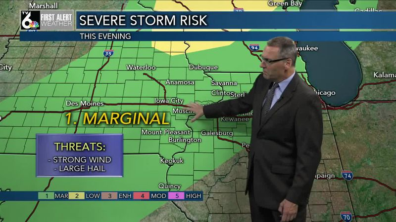 First Alert Forecast - Tuesday night storms, then a wonderful Wednesday