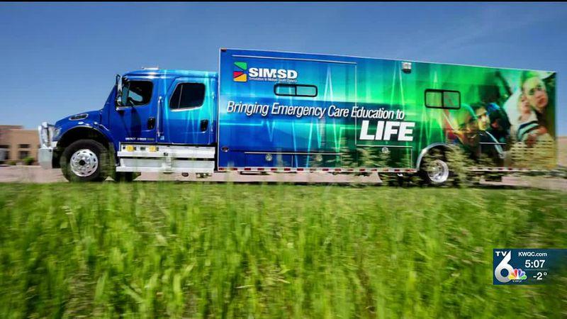 Simulator trucks to bring more education to rural hospitals