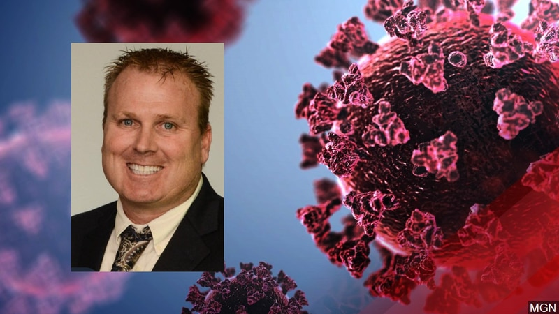 Jeff Deppe tested positive for COVID-19 in September.