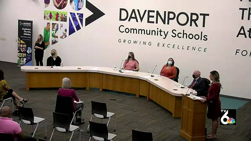 Candidates for the Davenport school board talk about how they can create a nurturing school...