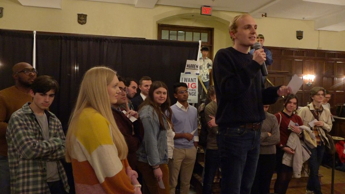 The mockus before the caucus: students learn about Iowa's famous political event (Source: Gray DC)