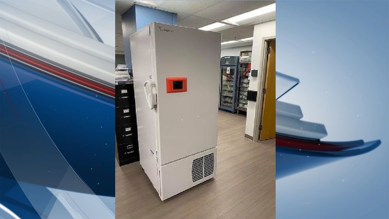 Genesis Health System purchased freezers to store COVID-19 vaccines.