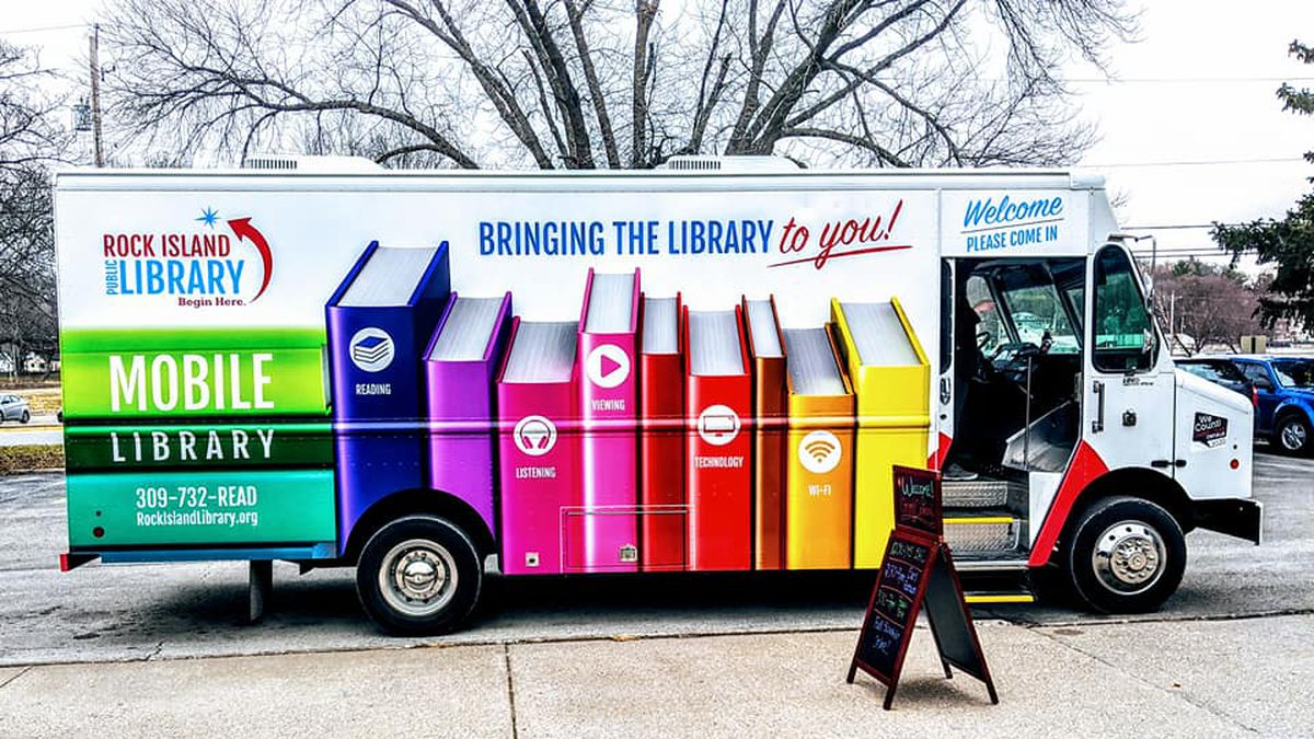 The Rock Island Public Library has released its mobile library schedule and it will begin on...