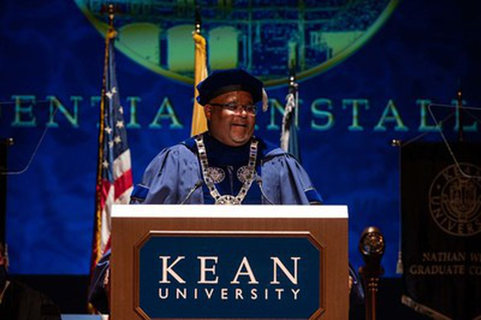 Kean University President Lamont O. Repollet, Ed.D., was installed today at the University's...