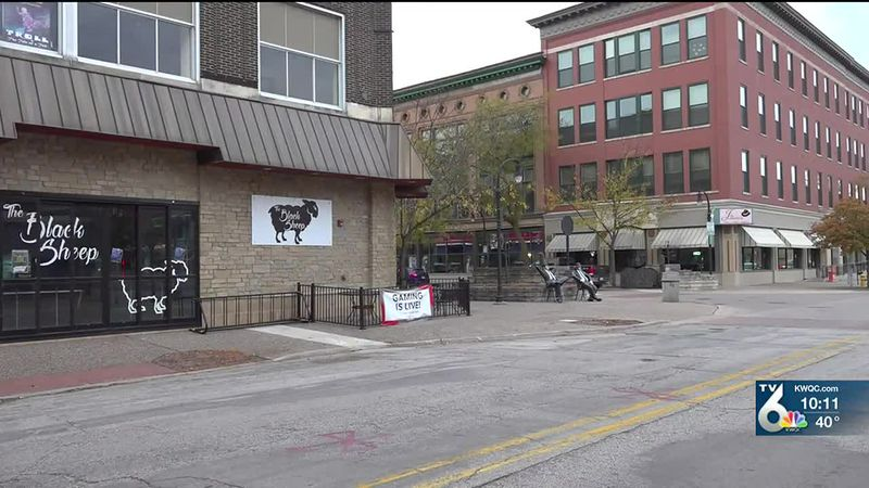 Business owner Shawn Cirlos says the combination of the pandemic and the curfew in Downtown...