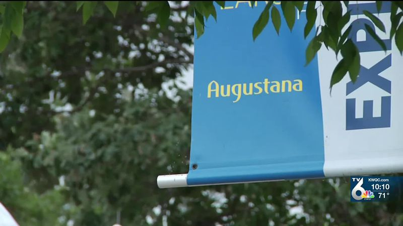 Augustana College students, staff start fall semester